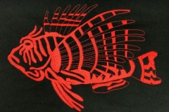 Feuerfisch Rückenlogo 300x200 mm  36,79 €