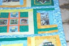 Kinder-Patchwork-Decke Größe: 120x120 mm Preis 75 €
